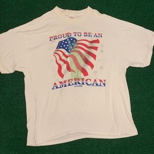 Vintage 9/11 American pride double sided tee